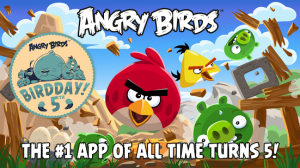Angry Birds apps