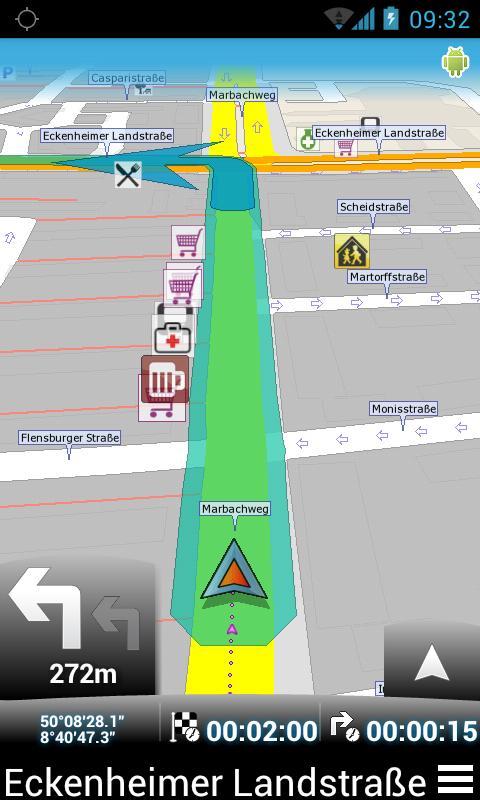 MapFactor: GPS