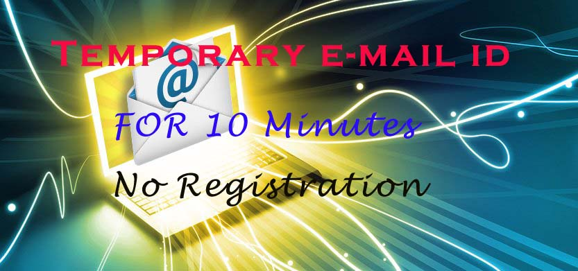 Temporary Email Address for 10 minutes without registration